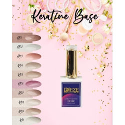 Kératine base K05 light pink glitter gold