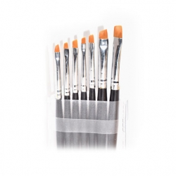 One stroke brushes set
