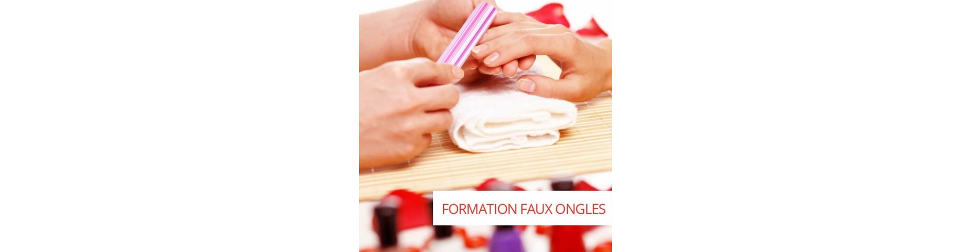 Nails trainings: fake nails in gel and acrylic in Belgium